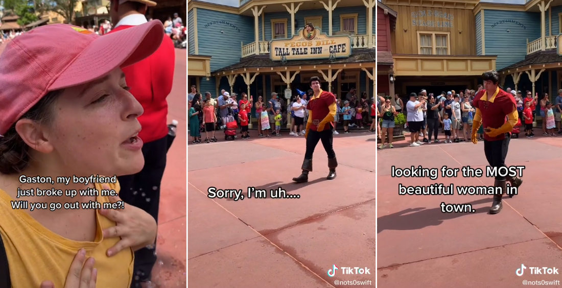 Gaston Coldly Roasts Woman Who Asks Him Out At Disney World
