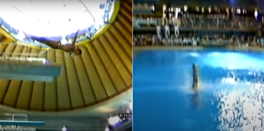 Greg Louganis's 'The Best Dive Ever' From The 1986 World Championships