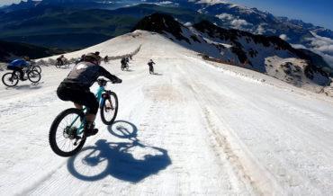 POV Footage From 2021's Mountain Of Hell Glacier Downhill Bike Race Winning Run