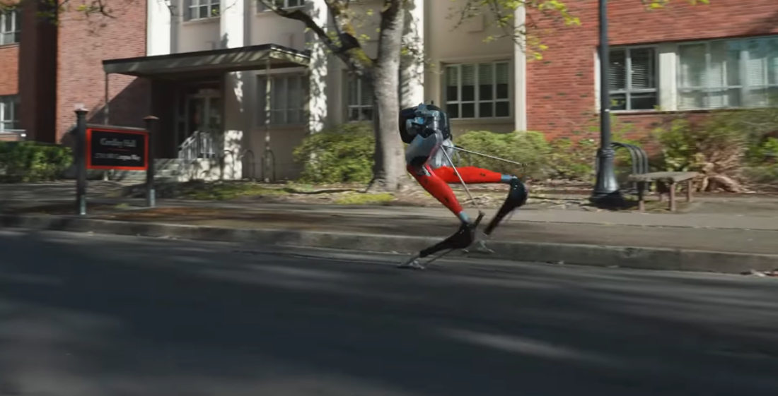 Robot Legs Finish 5K In Under An Hour On A Single Charge