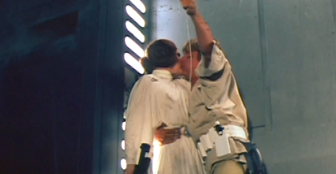 1977 Star Wars Movie Commercial Focusing On Luke And Leia Romance