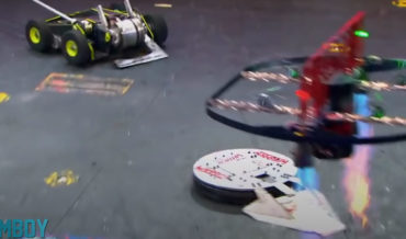 Man Provides Own Humorous Commentary To Battlebots