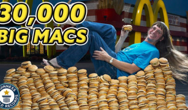 Guinness World Record Holder For Most Big Macs Eaten In A Lifetime (With 32,340+)