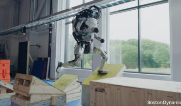 The End Is Nigh: Boston Dynamics' Atlas Humanoid Robot Does Parkour