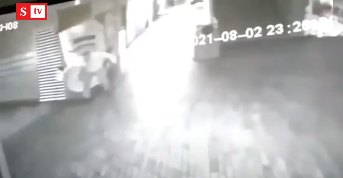 Colombian Mayor Releases Footage Of Ghost Attacking Security Guard