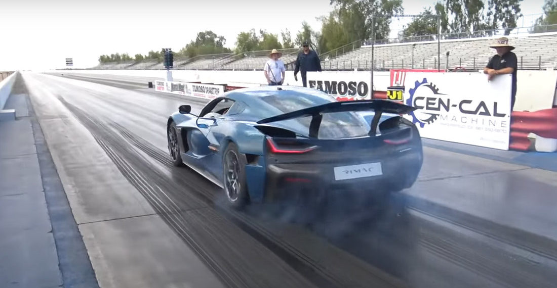 1,914 HP Electric Supercar Sets New 1/4 Mile World Record For Fastest Production Car