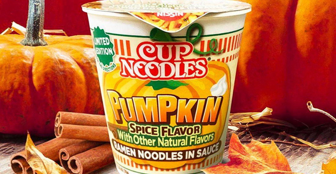 Cup Noodles Releasing Limited Edition Pumpkin Spice Flavored Ramen