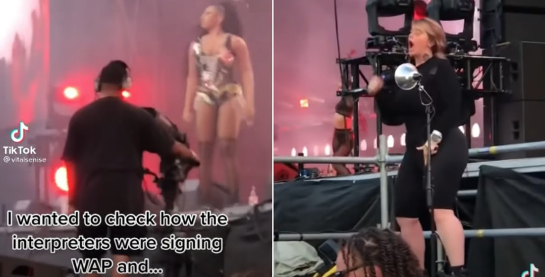Oh Dear: Sign Language Interpreter Signs Risque 'WAP' Song At Lollapalooza
