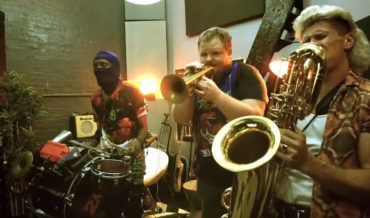 Brass Band Covers Nirvana's 'Smells Like Teen Spirit'