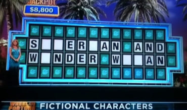 Wheel Of Misfortune: Man's Incredibly Wrong 'Superman And Spider Woman' Solve