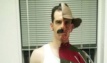 Very Clever Freddie Mercury/Freddy Krueger Costume