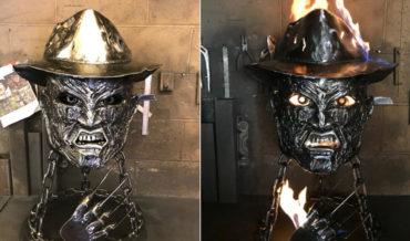 Nightmare Fuel: A Freddy Krueger Fire Pit