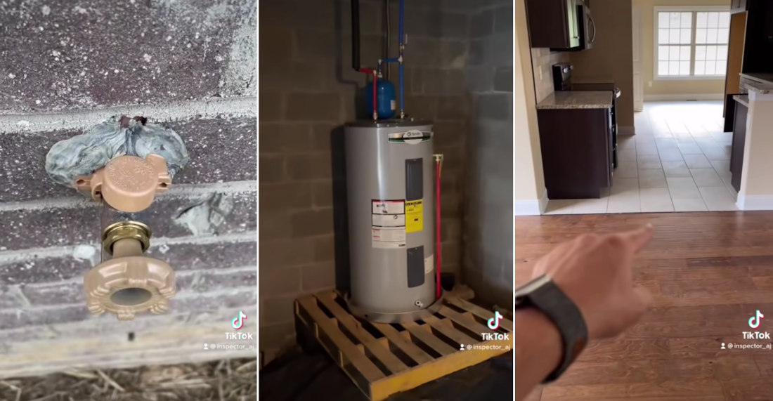 Inspector Calls Out All The Unacceptable, Cheap Fixes Builder Made On $500,000 Home