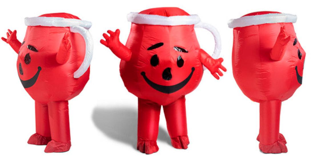 OH YEAH!: An Inflatable Kool-Aid Man Costume