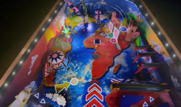 Freerunner Performs In Giant 65-Foot Human Pinball Machine