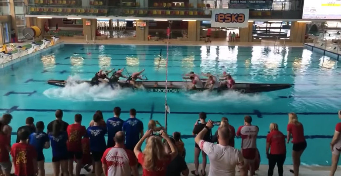 Tug Of War But Two Teams Rowing In A Boat