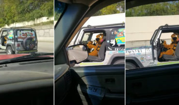 What The?: Scooby Doo Spotted Driving Jeep On Highway