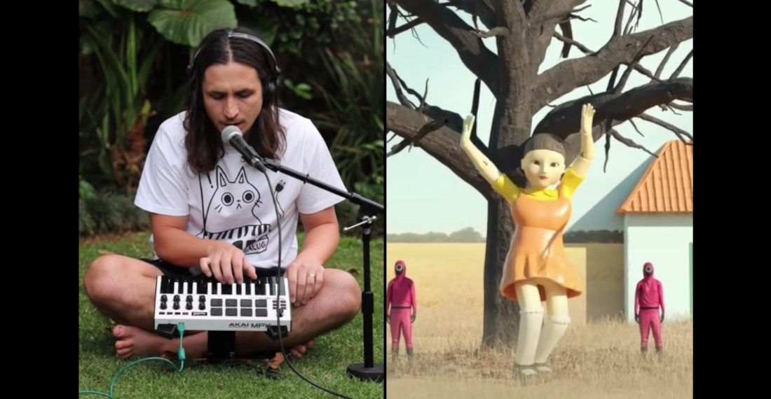 Musician Creates Remix From Squid Games' 'Red Light/Green Light' Creepy Talking Doll