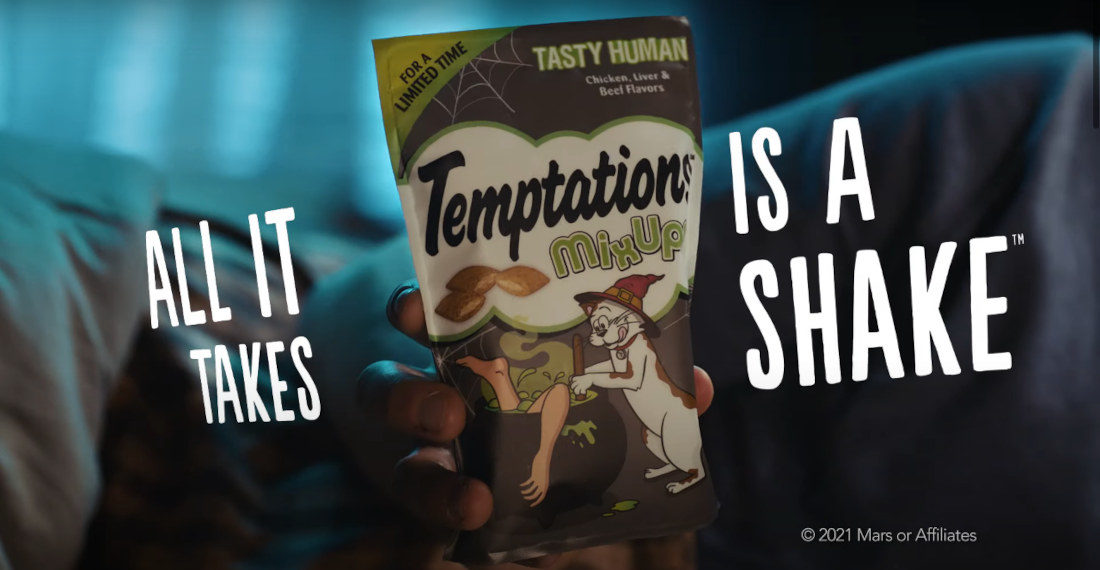 Limited Edition 'Tasty Human' Flavored Cat Treats